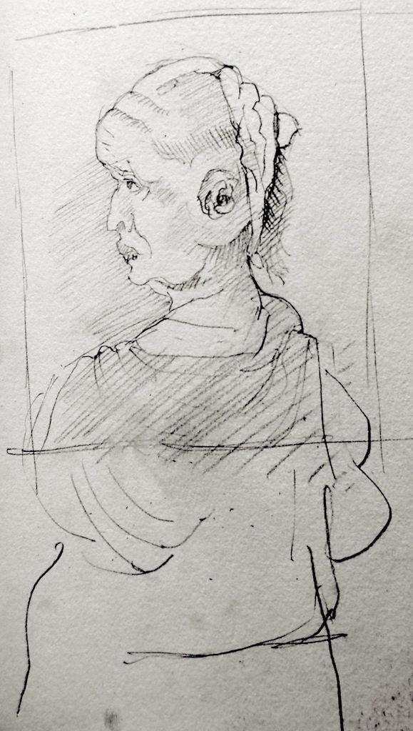 Greta Dansk sketch